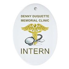 DENNY DUQUETTE Ornament (Oval)