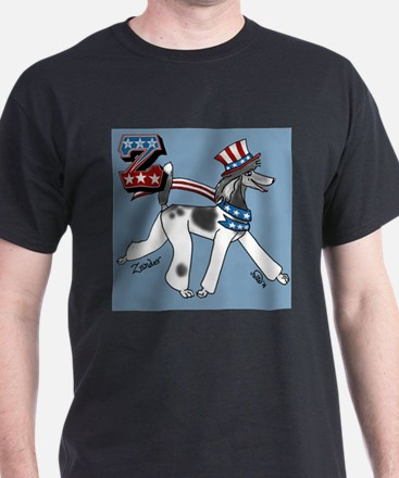 Cute 4th of july poodle T-Shirt