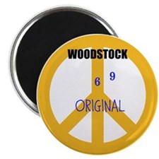 Woodstock 69 Original 2 Magnets