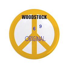 "Woodstock 69 Original 2 3.5"" Button"