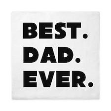 Best Dad Ever Queen Duvet