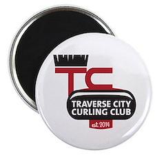 Tc Curling Club Magnet Magnets