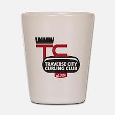 TC Curling Club Shot Glass