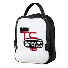 Tc Curling Club Neoprene Lunch Bag