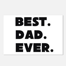 Best Dad Ever Postcards (Package of 8)