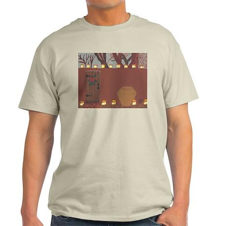 La Noche Buena Adobe Wall Light T-Shirt