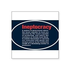 "Cute Mitt romney republican democrat politics political Square Sticker 3"" x 3"""