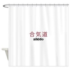 Aikido Shower Curtain
