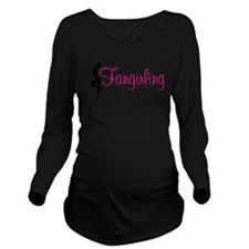 Fangirling - like a mofo Long Sleeve Maternity T-S