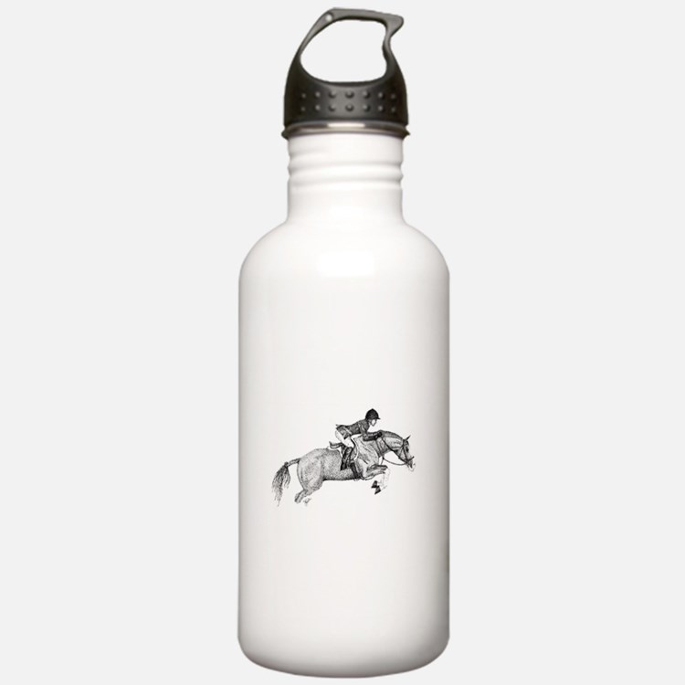 Hunter Jumper Pony Water Bottle