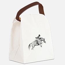 Hunter Jumper Pony Canvas Lunch Bag