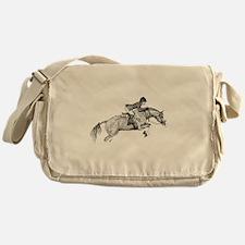 Hunter Jumper Pony Messenger Bag