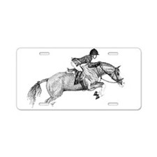 Hunter Jumper Pony Aluminum License Plate