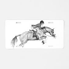 Hunter Jumper Pony Aluminum License Plate