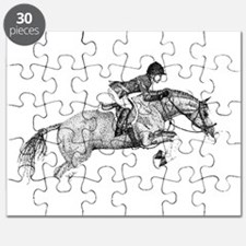 Hunter Jumper Pony Puzzle