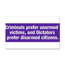 Funny The right to bear arms Rectangle Car Magnet