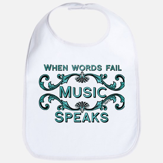 Music Speaks Bib