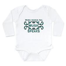 Music Speaks Body Suit
