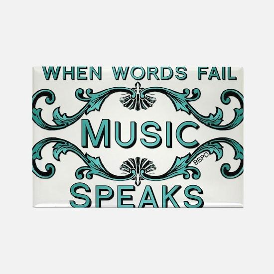 Music Speaks Magnets