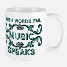 Music Speaks Mugs