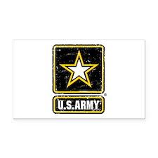 US Army Vintage Rectangle Car Magnet