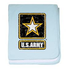 US Army Vintage baby blanket