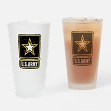 US Army Vintage Drinking Glass