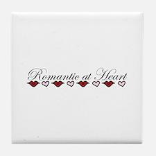 Romantic At Heart Tile Coaster