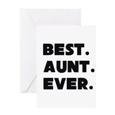 Best Aunt Ever Greeting Cards
