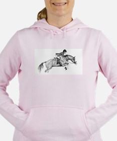 Hunter Jumper Pony Women's Hooded Sweatshirt