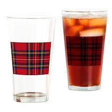 Royal Stewart Drinking Glass