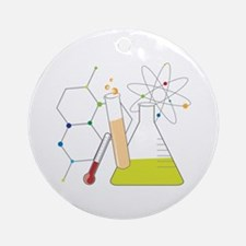 Chemistry Stuff Ornament (Round)