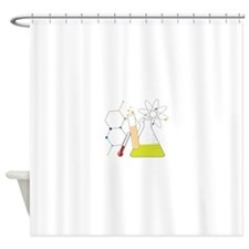 Chemistry Stuff Shower Curtain