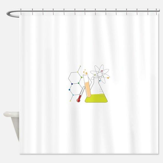 Chemistry Stuff Shower Curtain