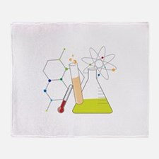 Chemistry Stuff Throw Blanket