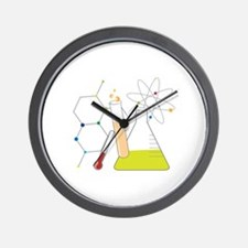Chemistry Stuff Wall Clock