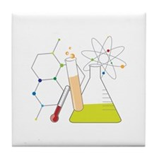 Chemistry Stuff Tile Coaster