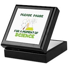 Please Pause Keepsake Box