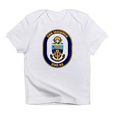 USS Momsen DDG-92 Infant T-Shirt