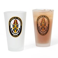DDG 95 USS Williams Drinking Glass
