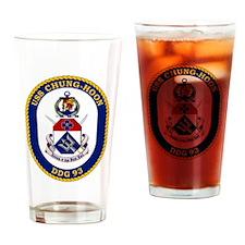 USS Chung-Hoon DDG-93 Drinking Glass