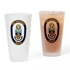 USS Momsen DDG-92 Drinking Glass