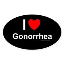 Gonorrhea Decal