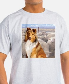 shelty with sheep T-Shirt