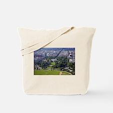 White House from Washington Monument Tote Bag
