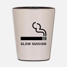Slow Suicide Shot Glass