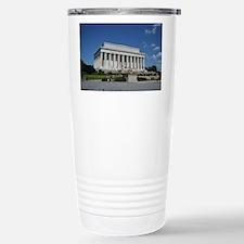 Lincoln Memorial from Base Travel Mug
