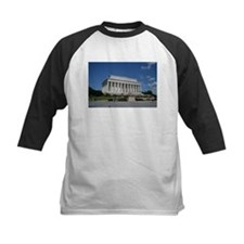 Lincoln Memorial from Base Baseball Jersey