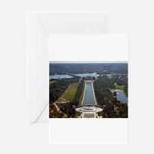 Reflecting Pool Greeting Cards