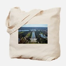 Lincoln Memorial - Pool - WWII memorial Tote Bag